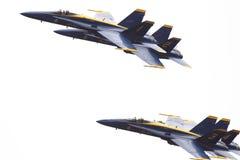 Blauwe engelen 7-6-10 2 Royalty-vrije Stock Afbeeldingen