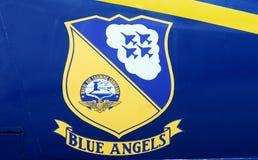 Blauwe Engelen USN Royalty-vrije Stock Afbeelding