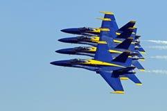 Blauwe Engelenluchtparade Royalty-vrije Stock Afbeelding