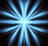 Blauwe Explosie Stock Illustratie