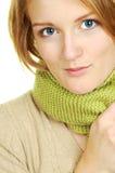 Blauwe Eyed Schoonheid Royalty-vrije Stock Fotografie