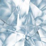 Blauwe fantasieachtergrond Stock Foto