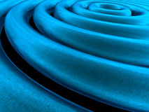 Blauwe fantasiebuizen Stock Foto's