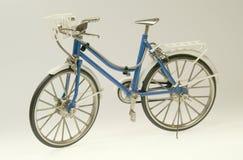 blauwe fiets Royalty-vrije Stock Foto's