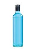 Blauwe fles royalty-vrije illustratie