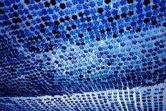 Blauwe flessenbodems Royalty-vrije Stock Afbeeldingen