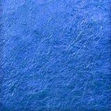 Blauwe folie Royalty-vrije Stock Foto