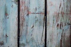 Blauwe foto geschilderde houten achtergrond royalty-vrije stock afbeelding