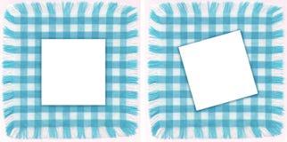 Blauwe frames Royalty-vrije Stock Foto's