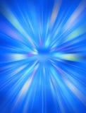 Blauwe Futuristische Achtergrond Royalty-vrije Stock Fotografie