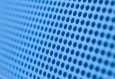 Blauwe gaten stock afbeelding