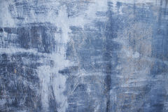 Blauwe gekraste metaaloppervlakte Royalty-vrije Stock Foto