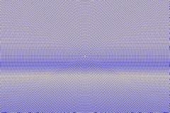 Blauwe gele gestippelde halftone Horizontale radiale gestippelde gradiënt Halftintachtergrond royalty-vrije illustratie