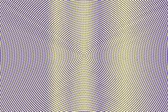 Blauwe gele gestippelde halftone Verticale frequente gestippelde gradiënt Halftintachtergrond royalty-vrije illustratie