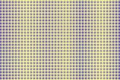 Blauwe gele gestippelde halftone Verticale regelmatige gestippelde gradiënt Halftintachtergrond royalty-vrije illustratie