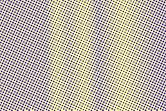 Blauwe gele gestippelde halftone Verticale ruwe gestippelde gradiënt Halftintachtergrond stock illustratie
