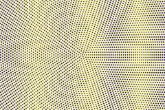 Blauwe gele gestippelde halftone Verticale vlotte gestippelde gradiënt Halftintachtergrond vector illustratie