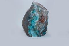 Blauwe geode Royalty-vrije Stock Afbeelding