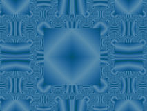 Blauwe geometrische achtergrond Royalty-vrije Stock Foto's