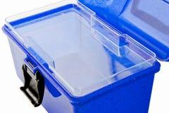 Blauwe Geopende Make-up Royalty-vrije Stock Afbeeldingen