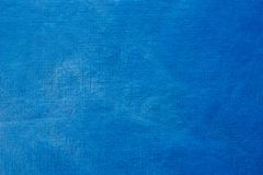 Blauwe geschilderde artistieke textuur als achtergrond stock afbeelding