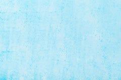 Blauwe geschilderde pastelkleurachtergrond royalty-vrije stock afbeeldingen