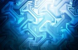 Blauwe Geweven Achtergrond vector illustratie