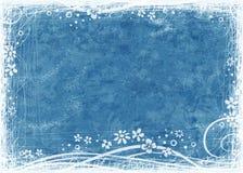 Blauwe geweven achtergrond Stock Afbeeldingen