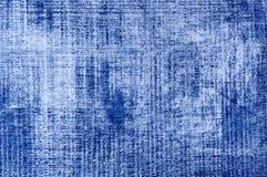 Blauwe geweven achtergrond royalty-vrije stock foto