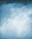 Blauwe Geweven Cloudscape Royalty-vrije Stock Afbeeldingen