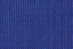 Blauwe Geweven Document Macro Stock Afbeelding