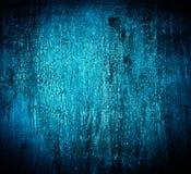 Blauwe geweven gebarsten grungy achtergrond Royalty-vrije Stock Fotografie