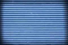 Blauwe gipspleister oude muur Stock Foto