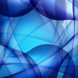 Blauwe golfachtergronden Royalty-vrije Stock Foto