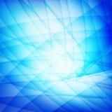 Blauwe golfachtergronden Stock Afbeelding