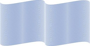 Blauwe golvende lijnen Royalty-vrije Stock Fotografie
