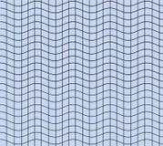 Blauwe golvende vierkanten Stock Foto's