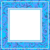 Blauwe Grens Royalty-vrije Stock Fotografie