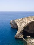 Blauwe Grot - Gozo, Malta Royalty-vrije Stock Afbeeldingen