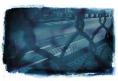 Blauwe Grunge royalty-vrije illustratie