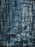 Blauwe grunge crosshatch Stock Afbeeldingen