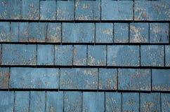 Blauwe grungetegels Stock Afbeelding