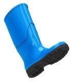 Blauwe gumboot vector illustratie