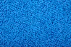 Blauwe handdoek stock afbeeldingen