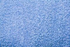 Blauwe handdoek Royalty-vrije Stock Foto