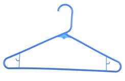 Blauwe Hanger Royalty-vrije Stock Afbeeldingen