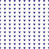 Blauwe harten Stock Foto's