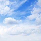 Blauwe hemel stock afbeelding