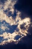 Blauwe hemel Royalty-vrije Stock Afbeeldingen
