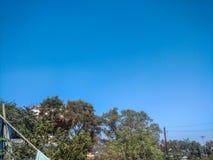 Blauwe hemel Stock Foto's